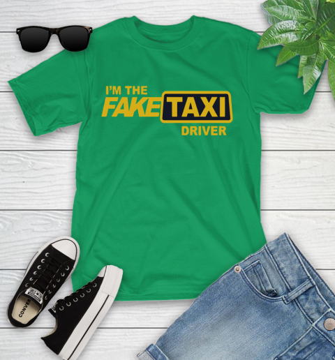I am the Fake taxi driver Youth T-Shirt 6