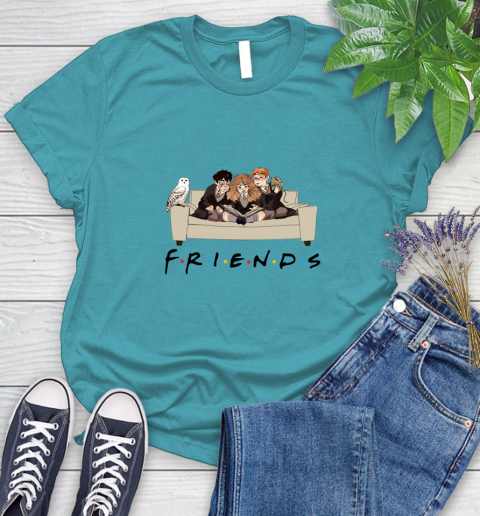 Harry Potter Ron And Hermione Friends Shirt Women's T-Shirt 11