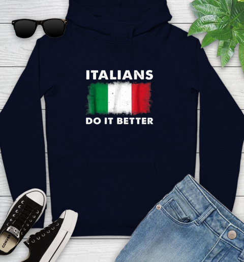 Italians Do It Better Youth Hoodie 3