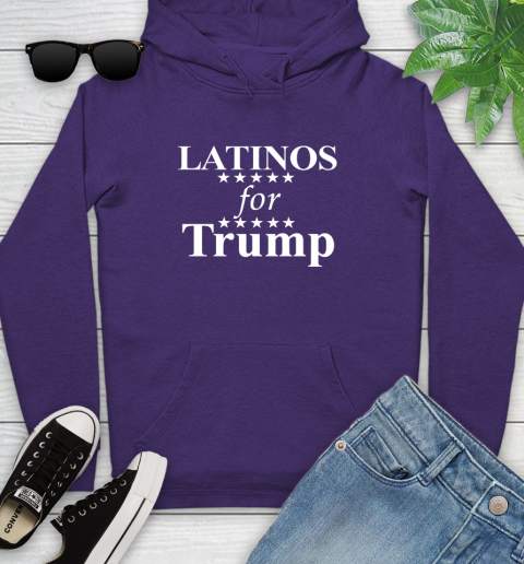 Latinos For Trump Youth Hoodie 5