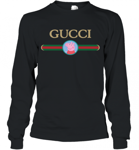 Peppa Pig Gucci Long Sleeve T-Shirt