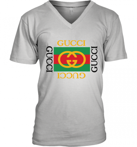 Gucci Logo Limited Edition V-Neck T-Shirt