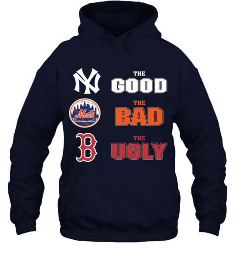 The Good The Bad The Ugly MLB New York Yankees Hoodie