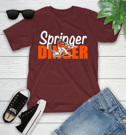 Houston Springer Dinger Fan Shirt Youth T-Shirt 14
