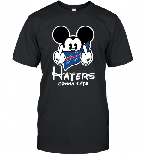 NFL Buffalo Bills Haters Gonna Hate Mickey Mouse Disney Football T Shirt T-Shirt