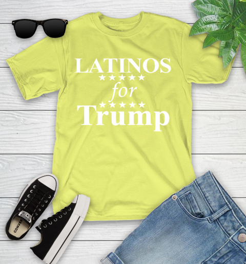 Latinos For Trump Youth T-Shirt 10