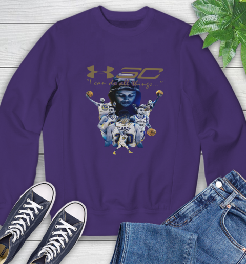 Stephen Curry I Can Do All Things Signature Sweatshirt 4