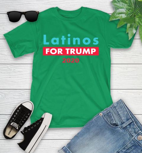 Latinos Trump 2020 Youth T-Shirt 6