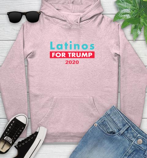 Latinos Trump 2020 Youth Hoodie 10