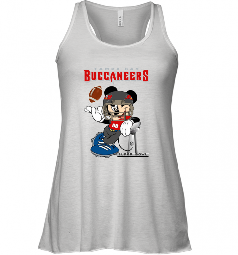 NFL Tampa Bay Buccaneers Mickey Mouse Disney Super Bowl Football T Shirt Racerback Tank