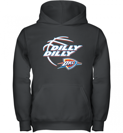NBA Oklahoma City Thunder Dilly Dilly Basketball Sports Youth Hoodie