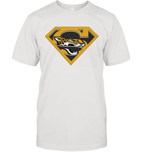 NFL Jacksonville Jaguars LOGO Superman T-Shirt