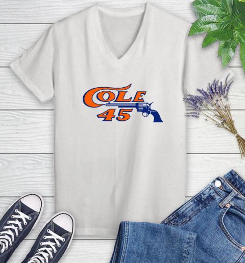 Cole 45 Women's V-Neck T-Shirt