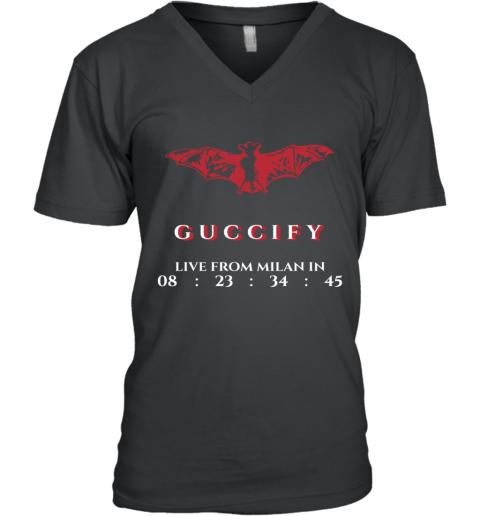 Gucci Bat Limited Edition V-Neck T-Shirt
