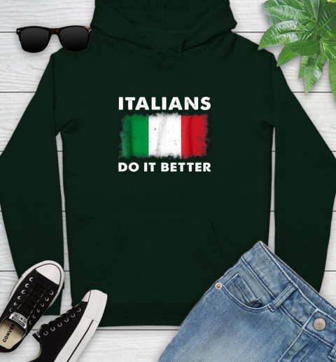 Italians Do It Better Youth Hoodie 14