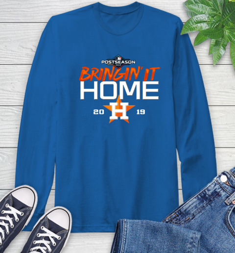 Bringing It Home Astros Long Sleeve T-Shirt 10