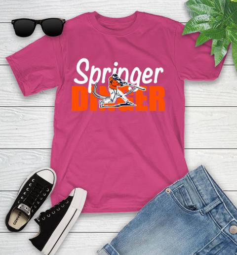 Houston Springer Dinger Fan Shirt Youth T-Shirt 11