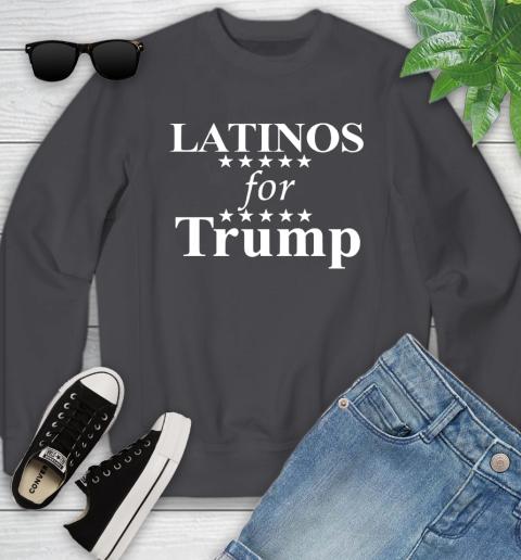 Latinos For Trump Youth Sweatshirt 5
