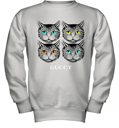 Gucci Black Cat Secret Unisex Youth Sweatshirt