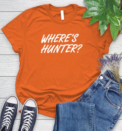 Where Is Hunter Women's T-Shirt 3