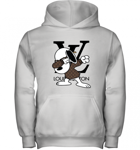 SNOOPY GUCCI x LOUIS VUITTON LOGO Youth Hoodie