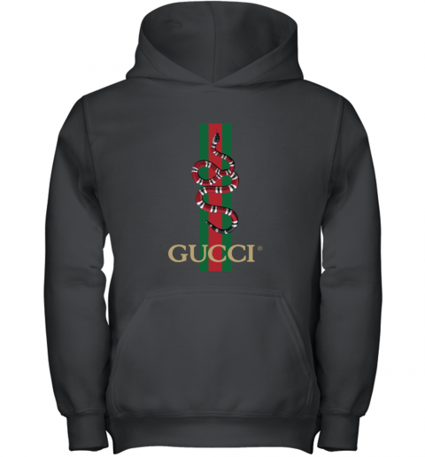 Gucci Logo Snake Polo Youth Hoodie