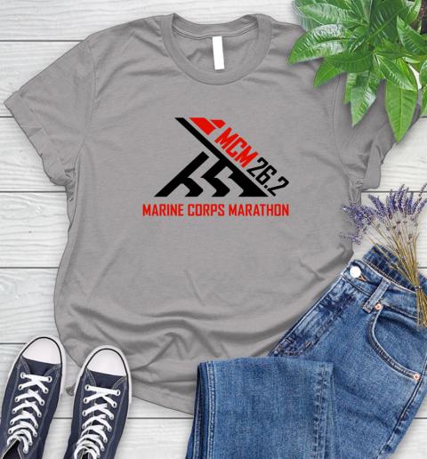 2018 Marine Corps Marathon Women's T-Shirt 3