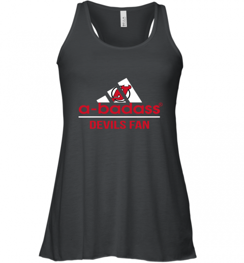 NHL A Badass New Jersey Devils Fan Adidas Hockey Sports Racerback Tank