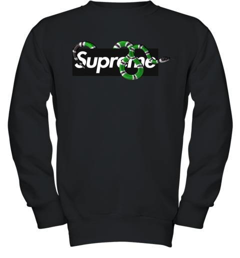 Gucci King Snake x Supreme Youth Sweatshirt