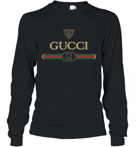Gucci Vintage Logo Long Sleeve T-Shirt