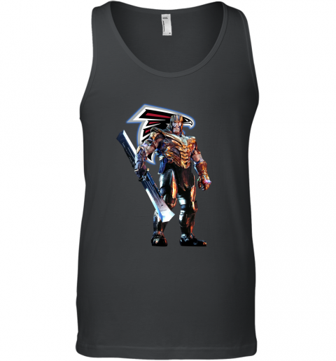 NFL Thanos Marvel Avengers Endgame Football Atlanta Falcons Tank Top
