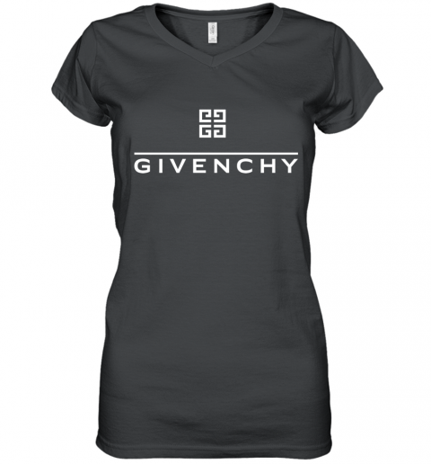 Givenchy Wolf Women's V-Neck T-Shirt