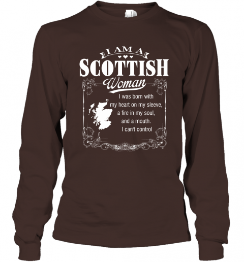 I Am A Scottish Woman Long Sleeve