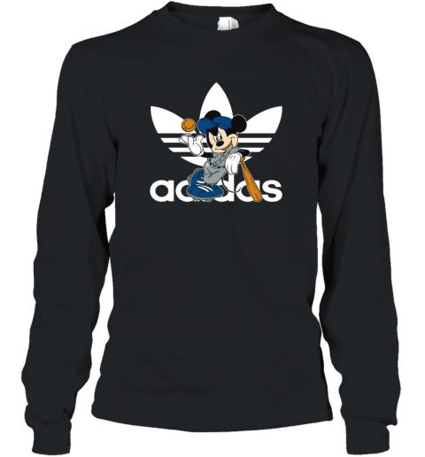 Adidas Logo Baseball Mickey Mouse Disney Long Sleeve T-Shirt