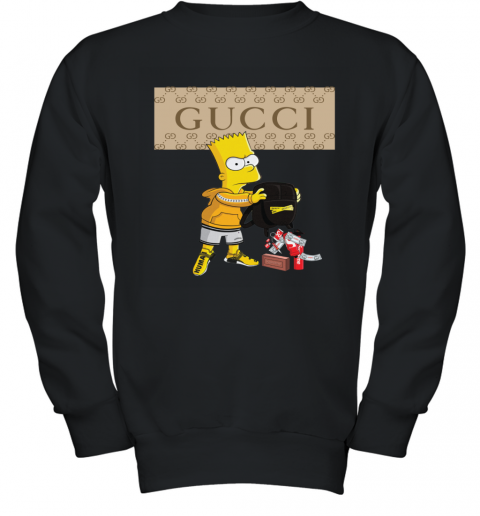 Gucci Bart Simpson Youth Sweatshirt