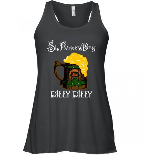 MLB New York Mets St Patrick's Day Dilly Dilly Beer Baseball Sports Racerback Tank