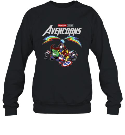 Marvel Avengers Endgame Unicorn Avencorns Shirt Sweatshirt