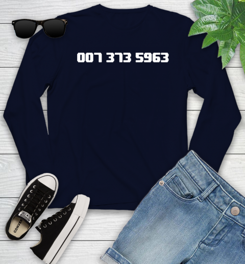 007 373 shirt Youth Long Sleeve 2