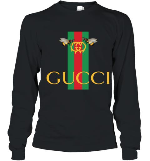 Gucci Bee Shirt Logo 2019 Youth Long Sleeve T-Shirt