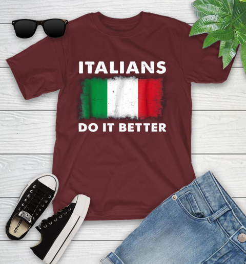 Italians Do It Better Youth T-Shirt 14