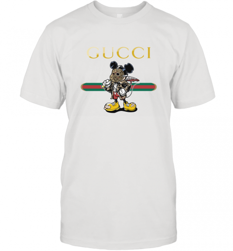 Gucci Jason Voorhees Mickey Mouse T-Shirt