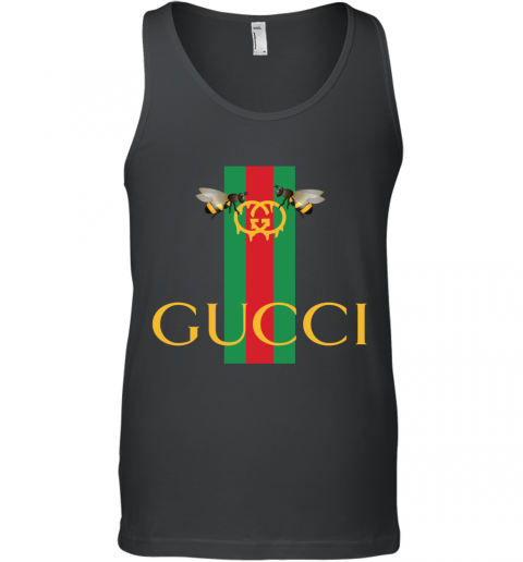 Gucci Bee Shirt Logo 2019 Tank Top