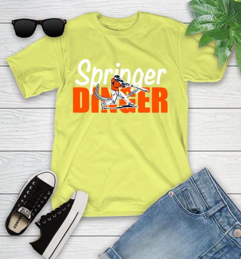 Houston Springer Dinger Fan Shirt Youth T-Shirt 10