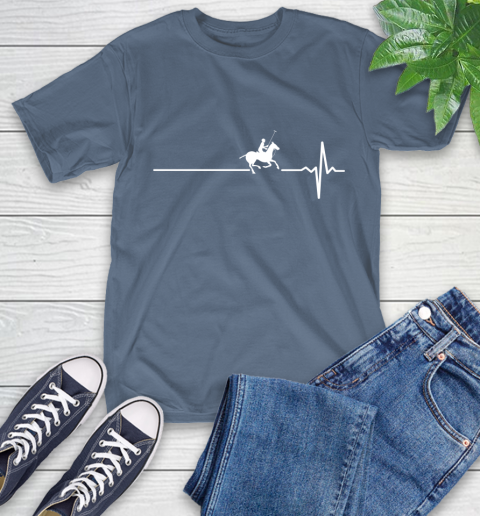 Polo Horse This Is How My Heart Beats T-Shirt 8