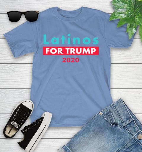 Latinos Trump 2020 Youth T-Shirt 11