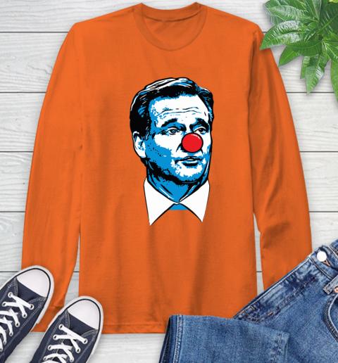 Matt Patricia Clown Long Sleeve T-Shirt 5
