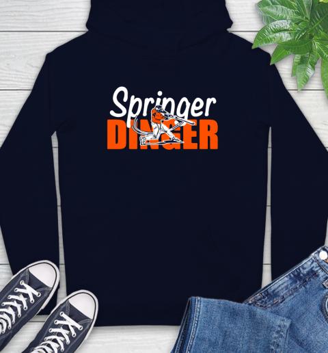 Houston Springer Dinger Fan Shirt Hoodie 3