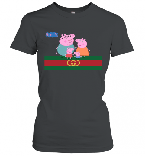 Peppa Pig Gucci Family Limited Women's T-Shirt