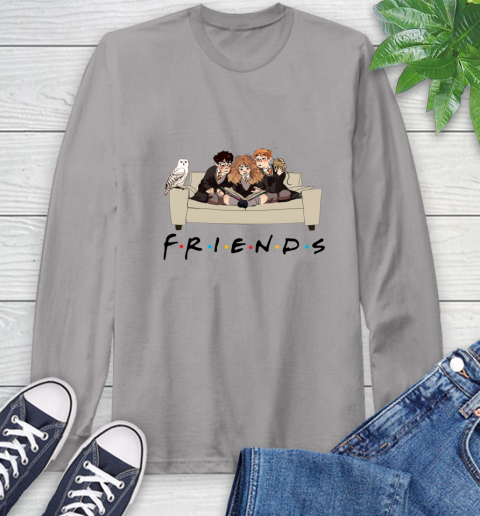 Harry Potter Ron And Hermione Friends Shirt Long Sleeve T-Shirt 4