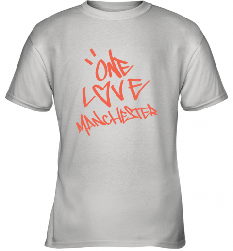 ARIANA GRANDE  ONE LOVE MANCHESTER Youth T-Shirt